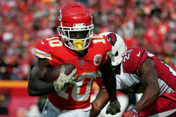 Radio Station Releases Extended Recording Of Tyreek Hill