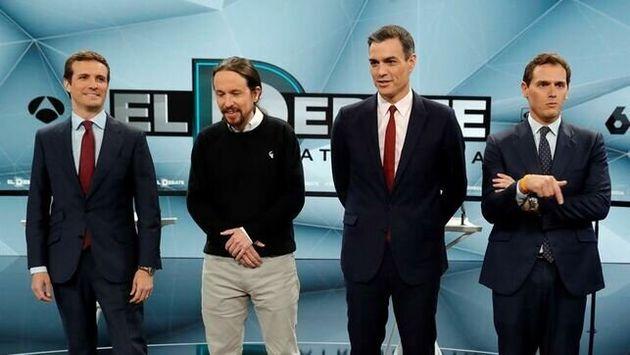 Empeora la nota de los líderes tras el 26M: Sánchez es el mejor