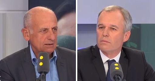 Jean-Michel Apathie regrette d'être allé dîner chez François de Rugy en 2017,...