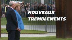 Merkel prise de tremblements pour la 3e fois en moins d'un