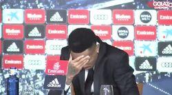 El nuevo fichaje del Madrid lo pasa realmente mal en su presentación y abandona la rueda de
