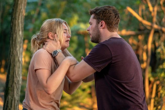Florence Pugh and Jack Reynor in