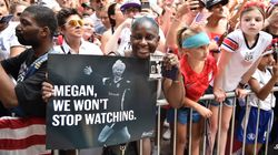 Women's World Cup Soccer Champs Praised At NYC Parade With Glorious