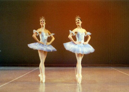 Dancing at the Kirov Academy of Ballet in Washington, D.C., when I was 13.