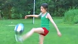 Watch Rose Lavelle Do Amazing Soccer Tricks At Age