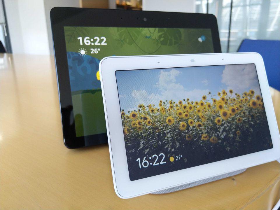 e10f345aa6836 Google Nest Hub contre Amazon Echo Show, lequel est le meilleur assistant en