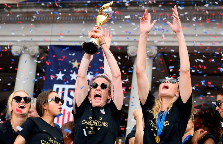 The Joy Of Watching The U.S. Women's Soccer Team Luxuriate In Victory