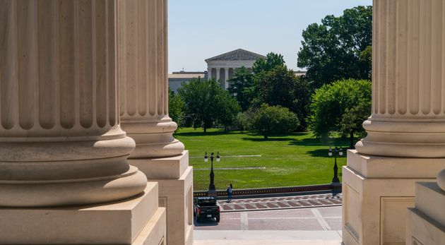 The Supreme Court, seen here from the U.S. Capitol, may end up considering the