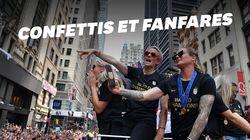 La parade new-yorkaise façon Disney des championnes du monde