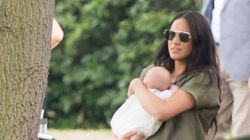 Baby Archie Makes His Polo-Watching Debut With His Mom And Royal