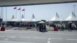 Aéroport de Tunis-Carthage: Installation de tentes à l'extérieur pour améliorer les conditions