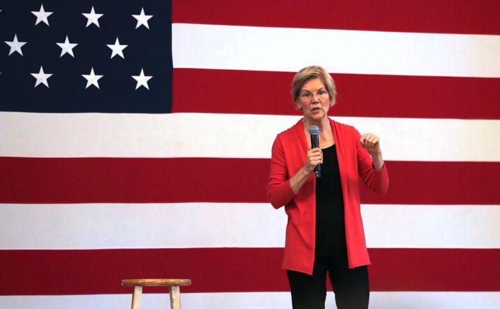 As she seeks the Democratic presidential nomination, Sen. Elizabeth Warren of Massachusetts has leavened her support for Isra