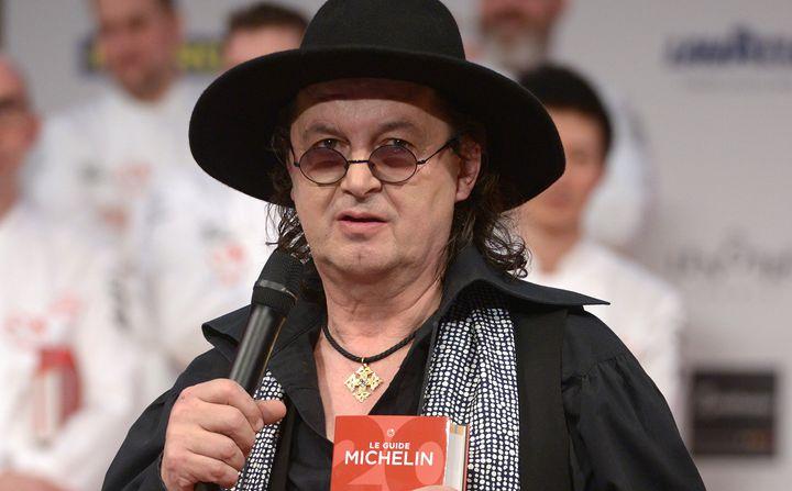 Marc Veyrat, ici le 5 février 2018 à la cérémonie Michelin, souhaite se retirer du célèbre guide.