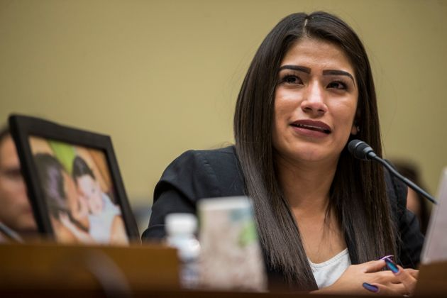 Yazmin Juárez, whose daughter Mariee died after detention by Immigration and Customs Enforcement,...