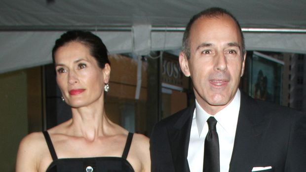 Annette Roque and Matt Lauer at the TIME 100 Gala celebrating TIME'S 100 Most Influential People In The World at Jazz at Lincoln Center on April 24, 2012 in New York City. Credit: RW/MediaPunch Inc./IPX