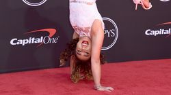 Katelyn Ohashi's Handstand In Heels On ESPY Red Carpet Is A Perfect