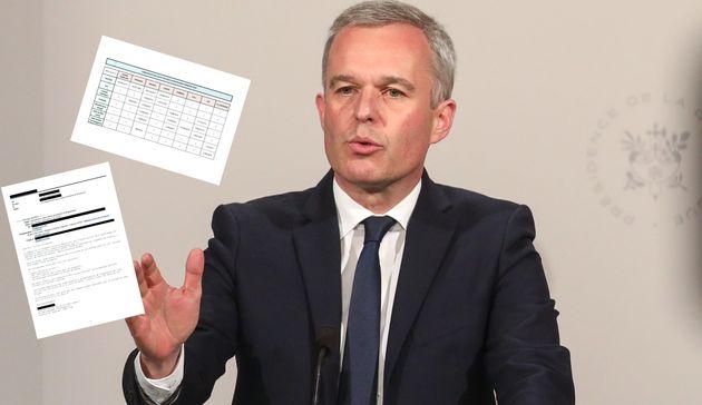 François de Rugy, ici en conférence de presse à l'Élysée ce 10 juillet,...