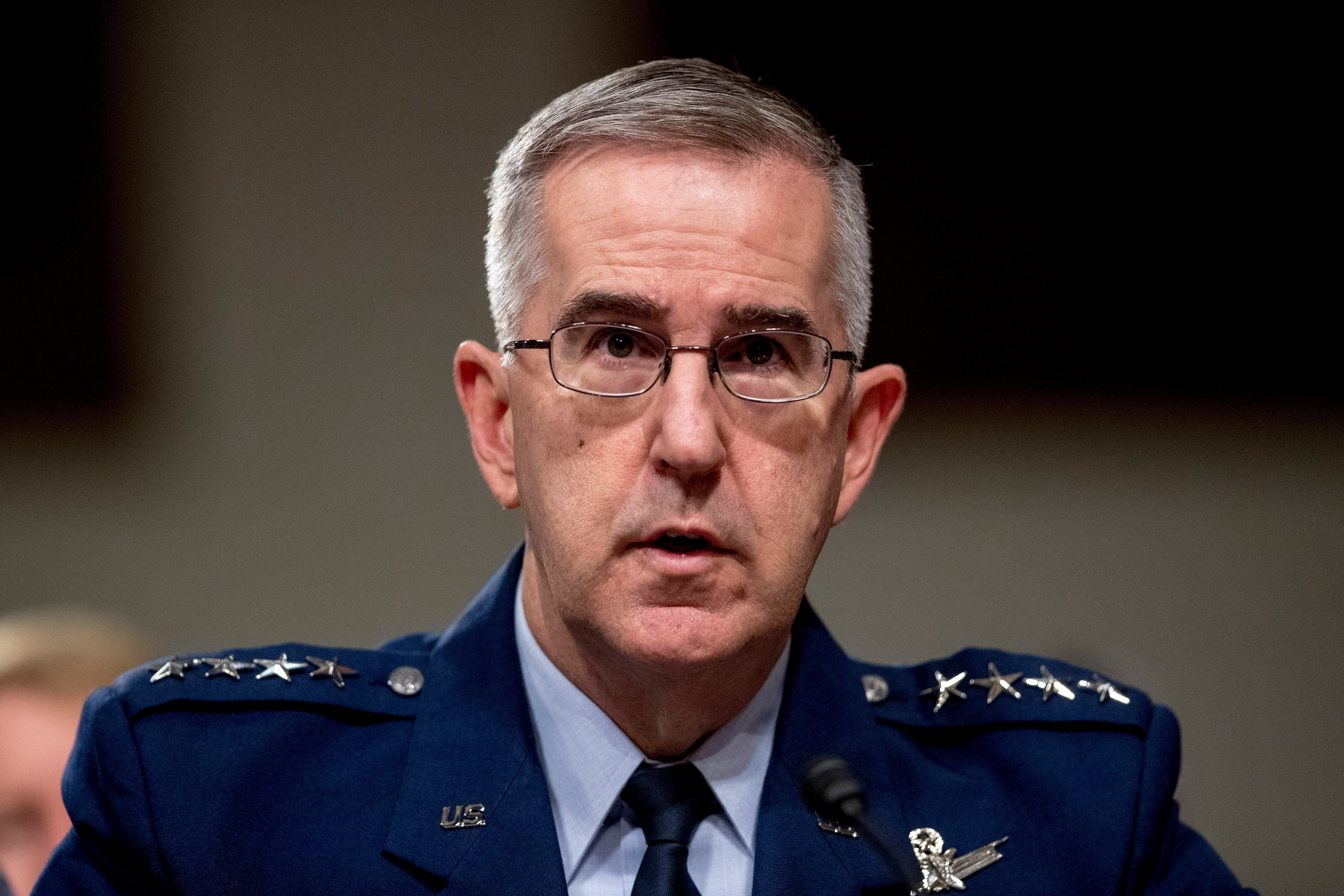 Senior Military Officer Accuses Air Force General Of Sexual Misconduct