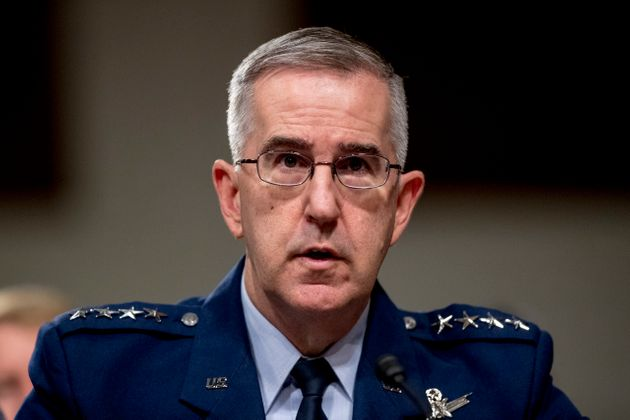 A senior military officer has accused the Air Force Gen. John Hyten of sexual misconduct. He was recentlytapped...