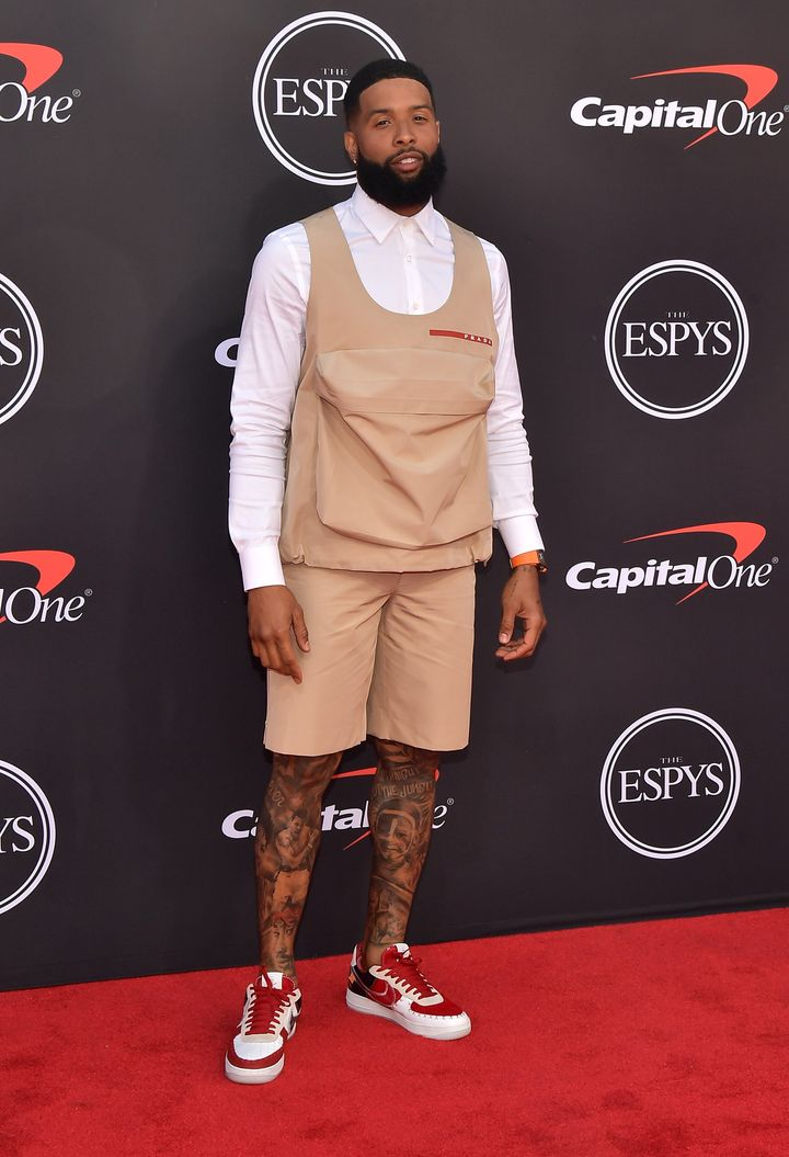 new arrival 3c898 1a998 Odell Beckham Sports A New Look At The ESPYs, And Twitter ...