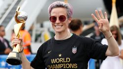 NYPD Investigates Vandalized Megan Rapinoe Posters As Possible Hate