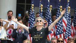 매력이 폭발한 메건 래피노 미국 여자축구 대표팀 주장의 연설