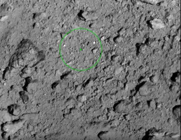 일본 '하야부사2호'가 소행성 류구 2번째 터치다운에