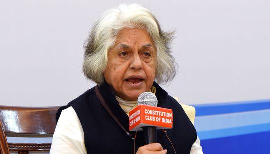 CBI Raids Indira Jaising's Home, Lawyers Collective'