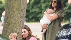 Kate Middleton, Meghan Markle Step Out With Archie For Prince Harry's Polo