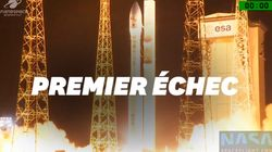 Arianespace a vécu un premier échec de la fusée
