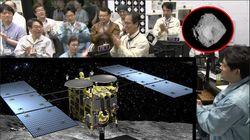 La sonde Hayabusa2 récupère des échantillons d'astéroïde et rentre à la