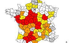 49 départements désormais concernés par des restrictions