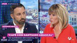La sorprendente actitud de Santiago Abascal en pleno directo que llama la atención de Susanna