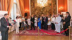 Η Γαλλία τίμησε την Νάνα Μούσχουρη με το παράσημο του Ταξιάρχη του Εθνικού Τάγματος της Λεγεώνας της