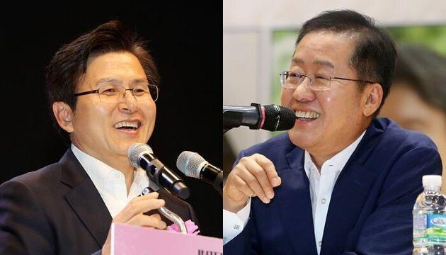 """""""황교안은 정치 초년생"""" 홍준표 도발에 황교안이"""