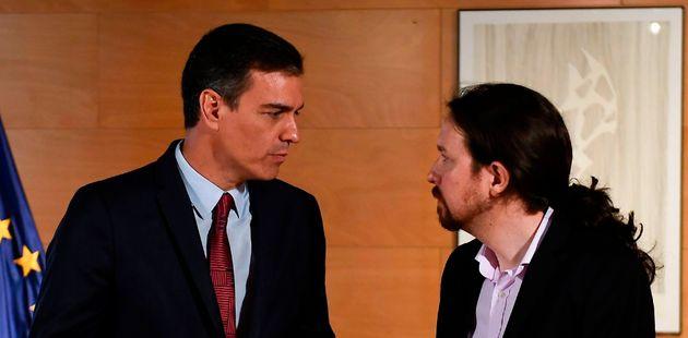 Pablo Iglesias y Pedro