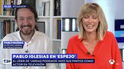 El comentario de Pablo Iglesias en 'Espejo Público' que ha hecho sonrojar a Susanna