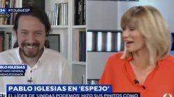 Iglesias a Susana Griso: