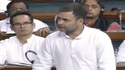 Rahul Gandhi Brings Up 'Terrible' Situation Of Farmers In Lok Sabha, Rajnath Singh