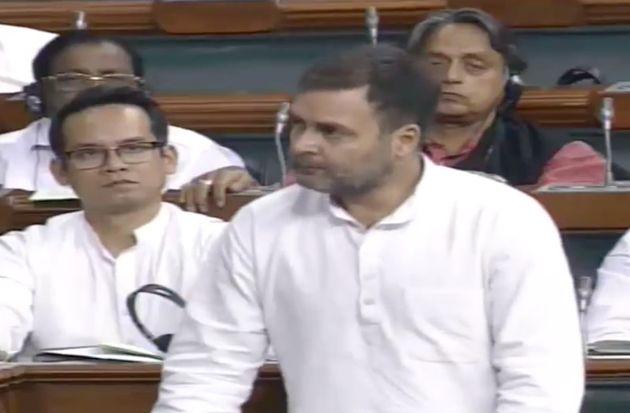 Rahul Gandhi Brings Up 'Terrible' Situation Of Farmers In Lok Sabha, Rajnath Singh