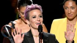 Megan Rapinoe Makes A Funny F-Bomb Promise At The ESPY
