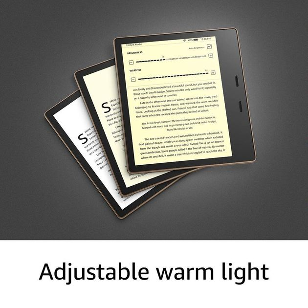 Although it costs as much as an iPad, the all new Amazon Kindle Oasis is packed with all the bells and...