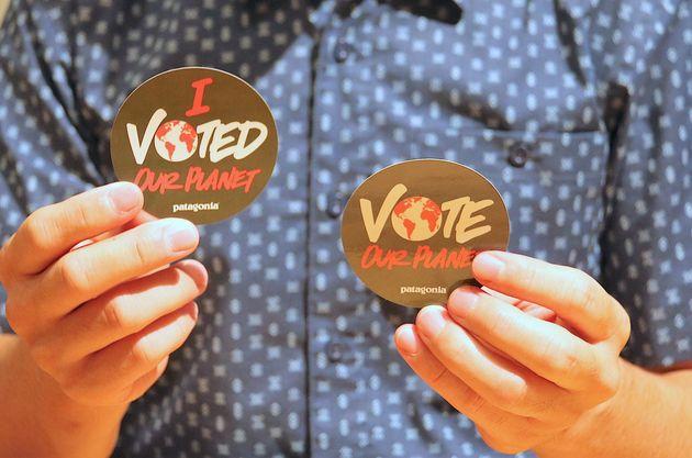 파타고니아가 휴업까지 하면서 직원들에게 투표를 독려하는