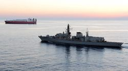 """UK Warship """"Warns"""" Iranian Vessels In The"""