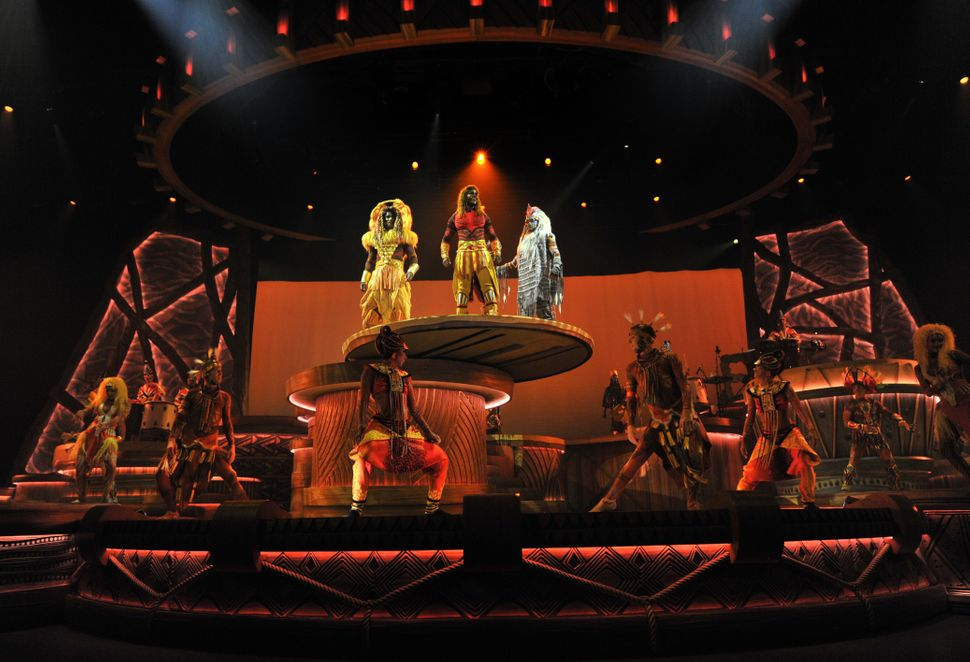 El espectáculo 'The Lion King: Rhythms of the