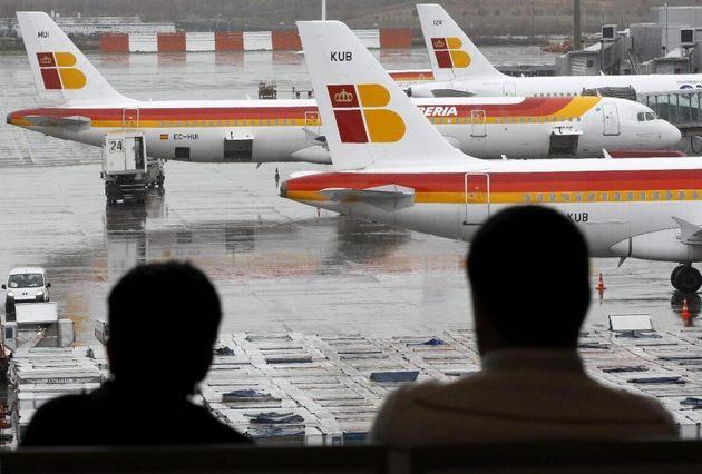 Los trabajadores de Iberia en Barcelona convocan una huelga el 27 y 28 de