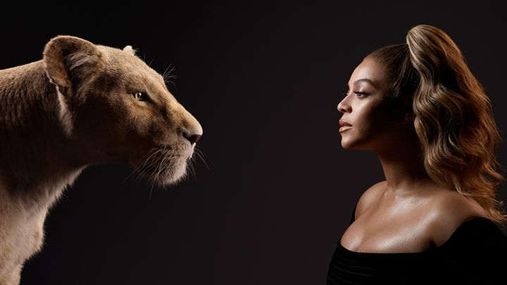 The Lion Queens, Nala and Beyoncé.