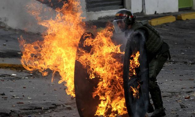 A prisión el venezolano acusado de quemar vivo a otro en unas