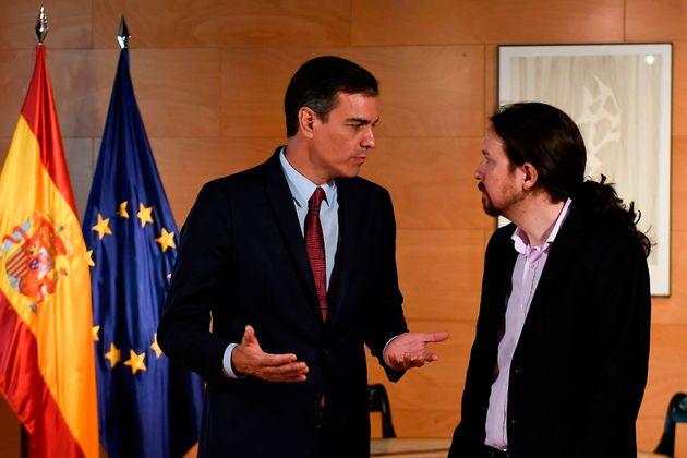 El desencuentro telefónico de Sánchez e Iglesias: se mantienen