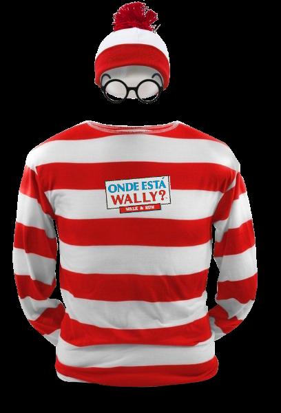 O kit de participação na corrida inclui camisa, gorro e óculos similares ao do